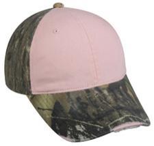Mossy Oak Break-Up® Ladies Camo Frayed Visor Cap