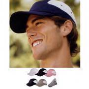 Champion® 5 Panel Microfiber Hat with Folding Brim