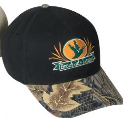 **BEST VALUE** Camo Cap w/Contrasting Visor