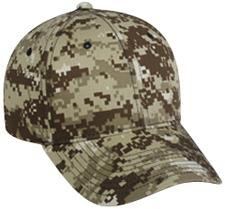 Structured Digital Camo Cap