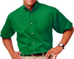 **BEST VALUE**        Mens Short Sleeve Cotton Twill Shirt